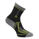 Regatta 2 Season Coolmax Trek & Trail Socks Kids Black/Oasis Green